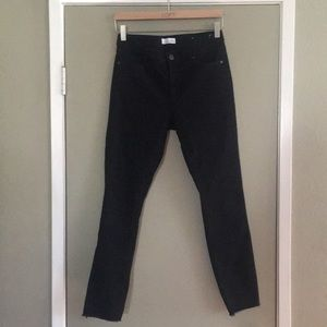 LOFT modern skinny frayed jeans 27/4